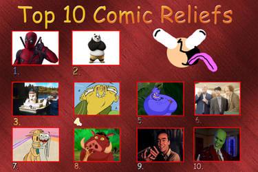 top 10 comic reliefs by NTSEFAN