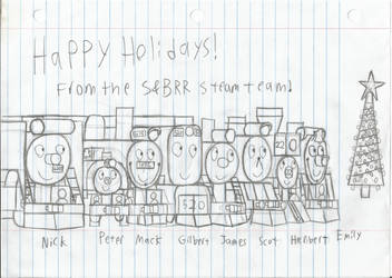 Happy Holidays from the S and BRR Steam team by NTSEFAN