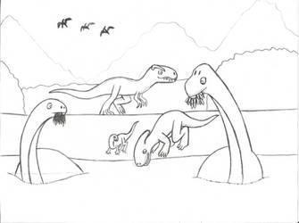 Mesozoic island by NTSEFAN