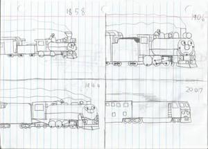Evolution of rail travel