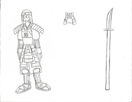 Masako's armor