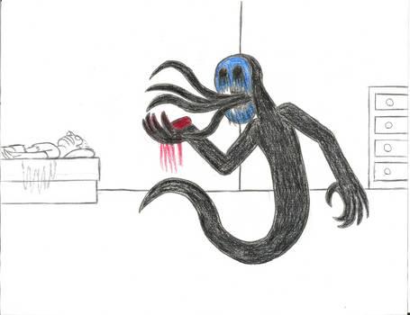 Eyeless Jack feasting