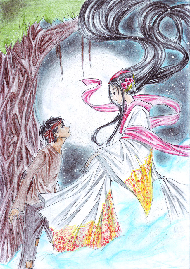 Moon Goddess by Kumihan on DeviantArt