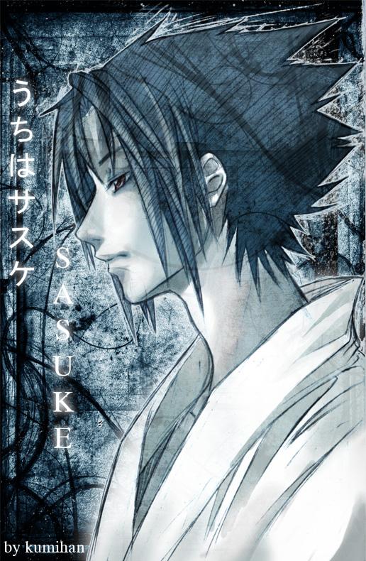 Naruto: Sasuke Doodle xD by Kumihan