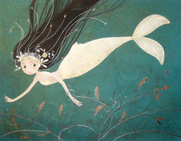 The little mermaid by cathydelanssay