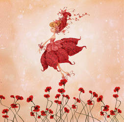 the fairy of flowers