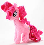 Second Pinkie Pie - Knitted Plush