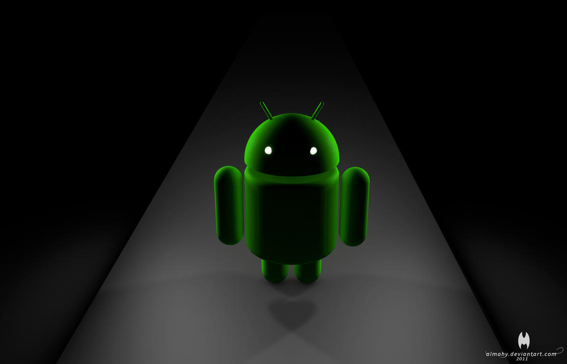 3d android by almahy on deviantart