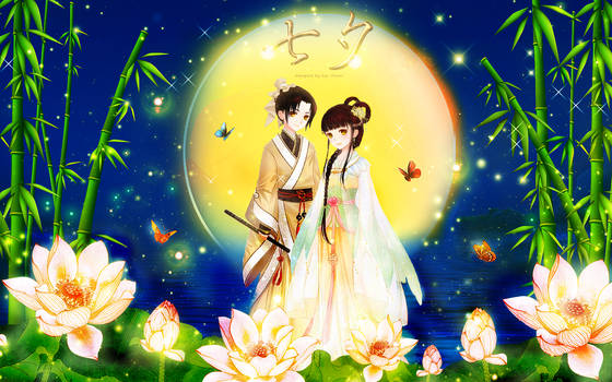 Qixi Festival | Love Nikki | Greeting | Wallpaper