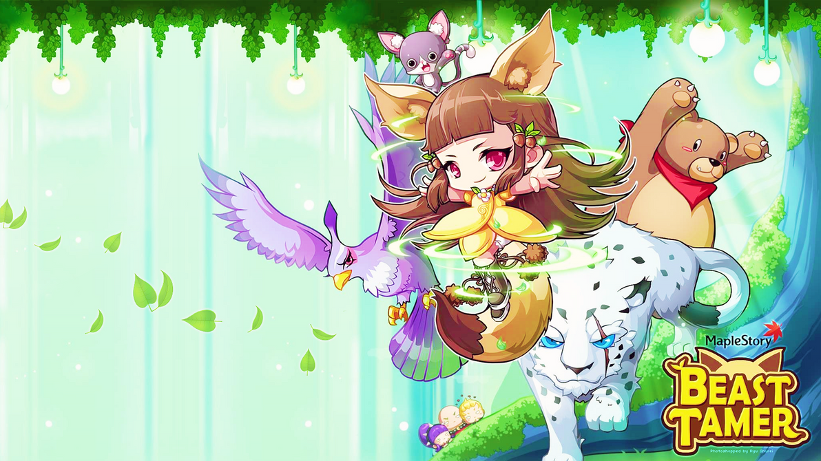 Beast Tamer Maplestory Desktop Wallpaper By Ryushurei On Deviantart