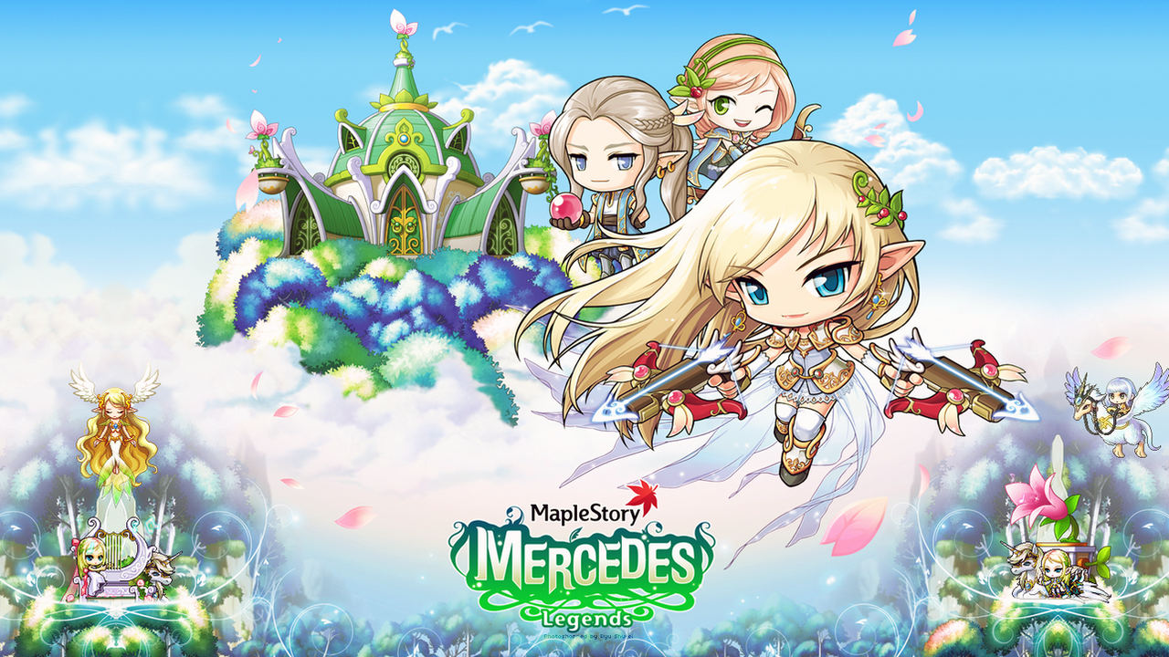 Mercedes Maplestory Desktop Wallpaper By Ryushurei On Deviantart