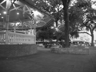 Black and White Cabana