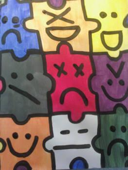 Emotional Puzzle Pieces