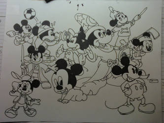Mickey Mouses by mollygator24