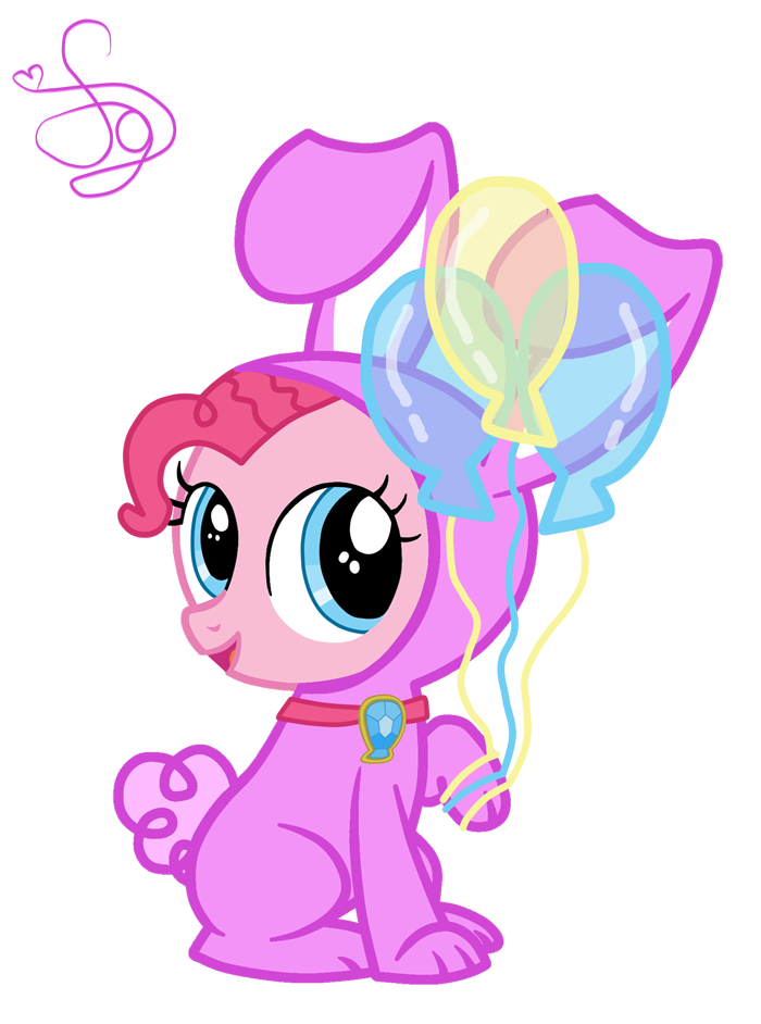 Pinkie Pie Rabbit by KristieSparcle