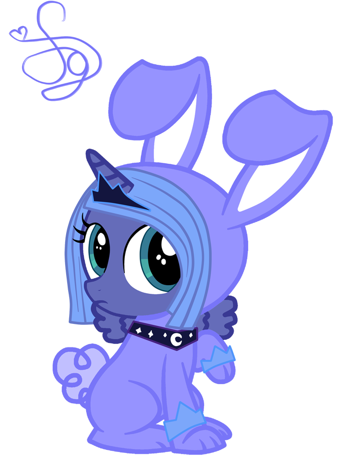 Luna Rabbit by KristieSparcle
