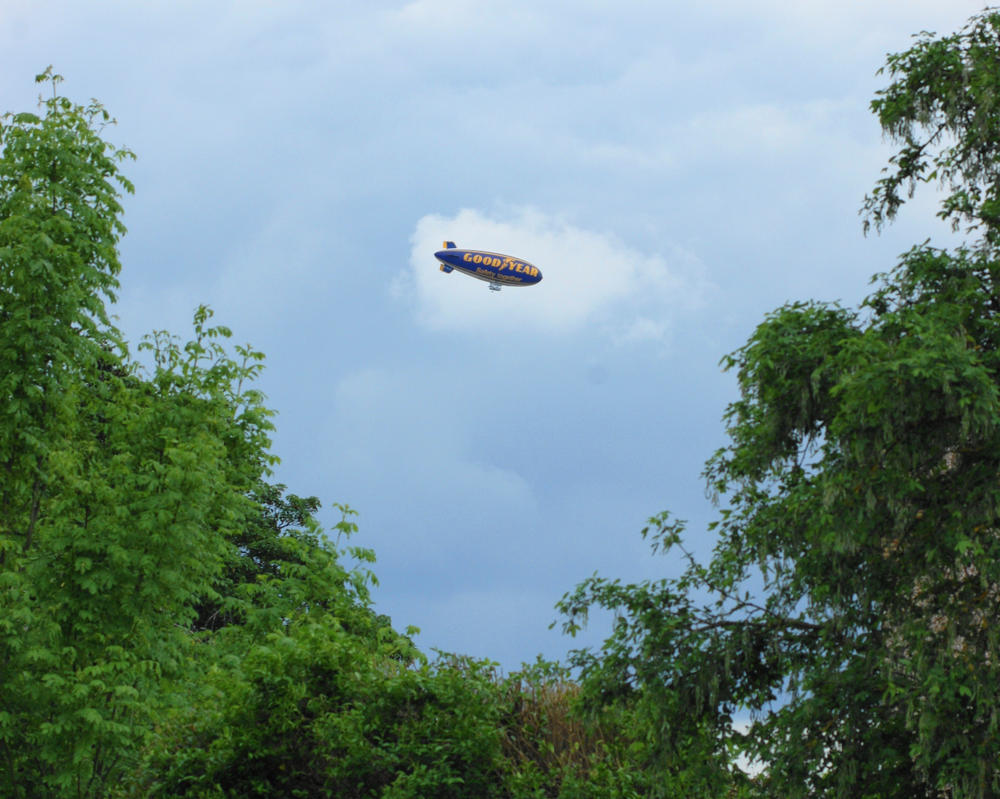 Goodyear Blimp G-HLEL Spirit of Safety by TPJerematic