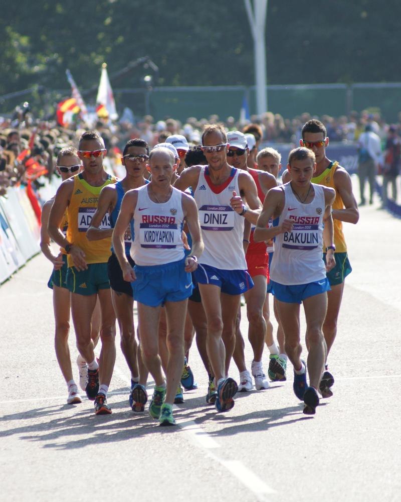Race Walking! by TPJerematic