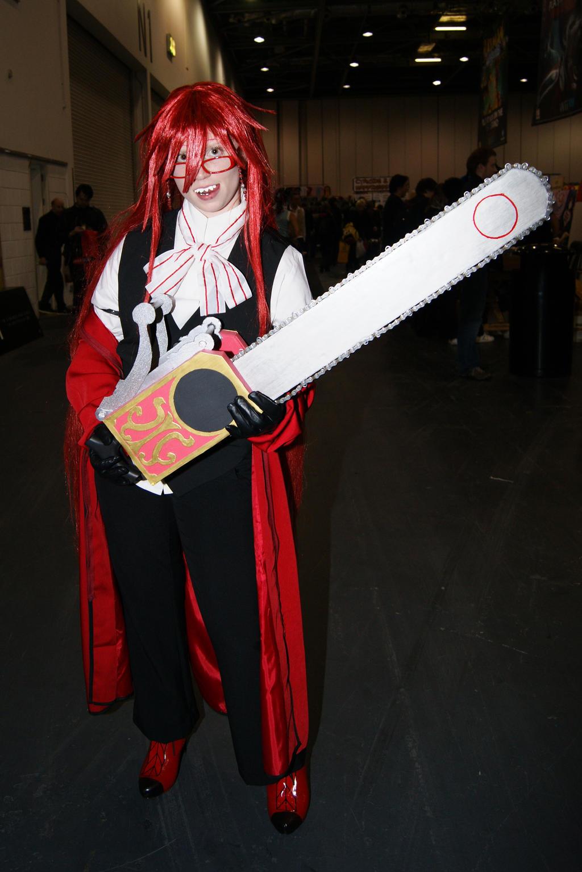 Black butler grell cosplay leda