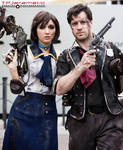 BioShock Infinite - Elizabeth and Booker