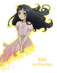 SAO - Yui-MHCP001 by Meli-ichigo