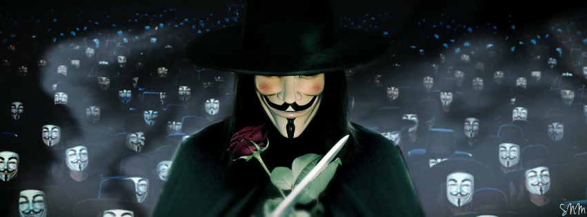 a film evaluation v for vendetta english literature essay Writer's name professor's name existential theories in literature 5 may 2011 individual vs the herd in the film v for vendetta introduction.