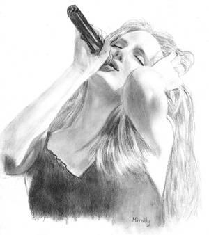 Simone, Singer of EPICA
