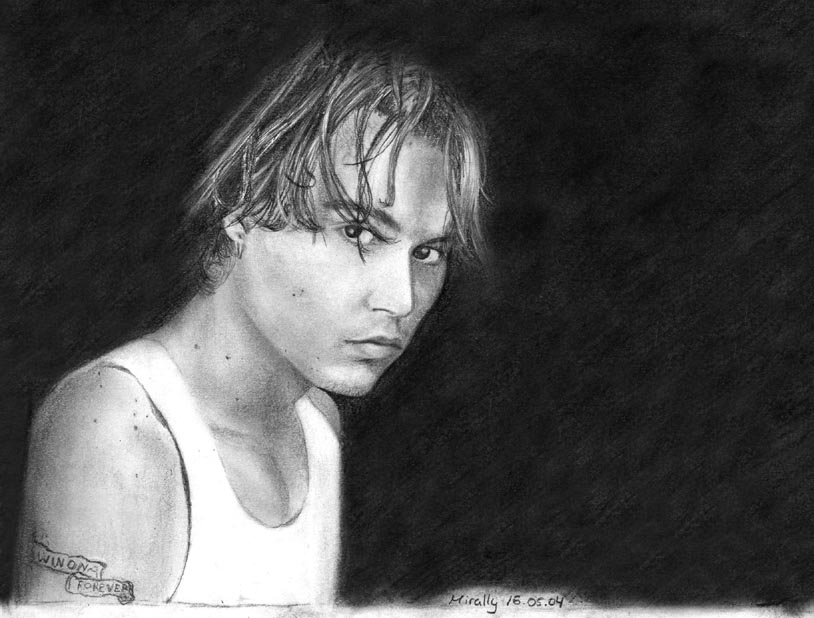 Johnny Depp by Mirally