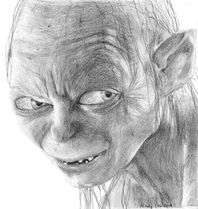 Gollum - Lotr by Mirally