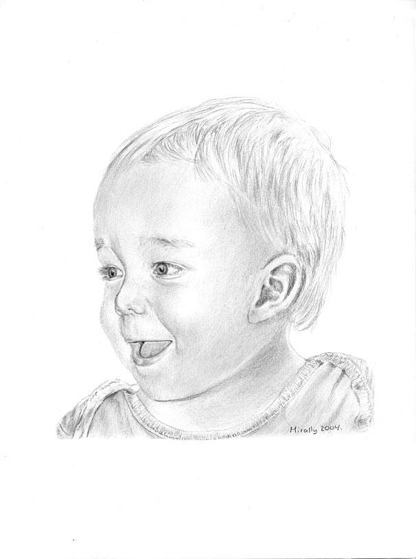 Happy Little boy by Mirally