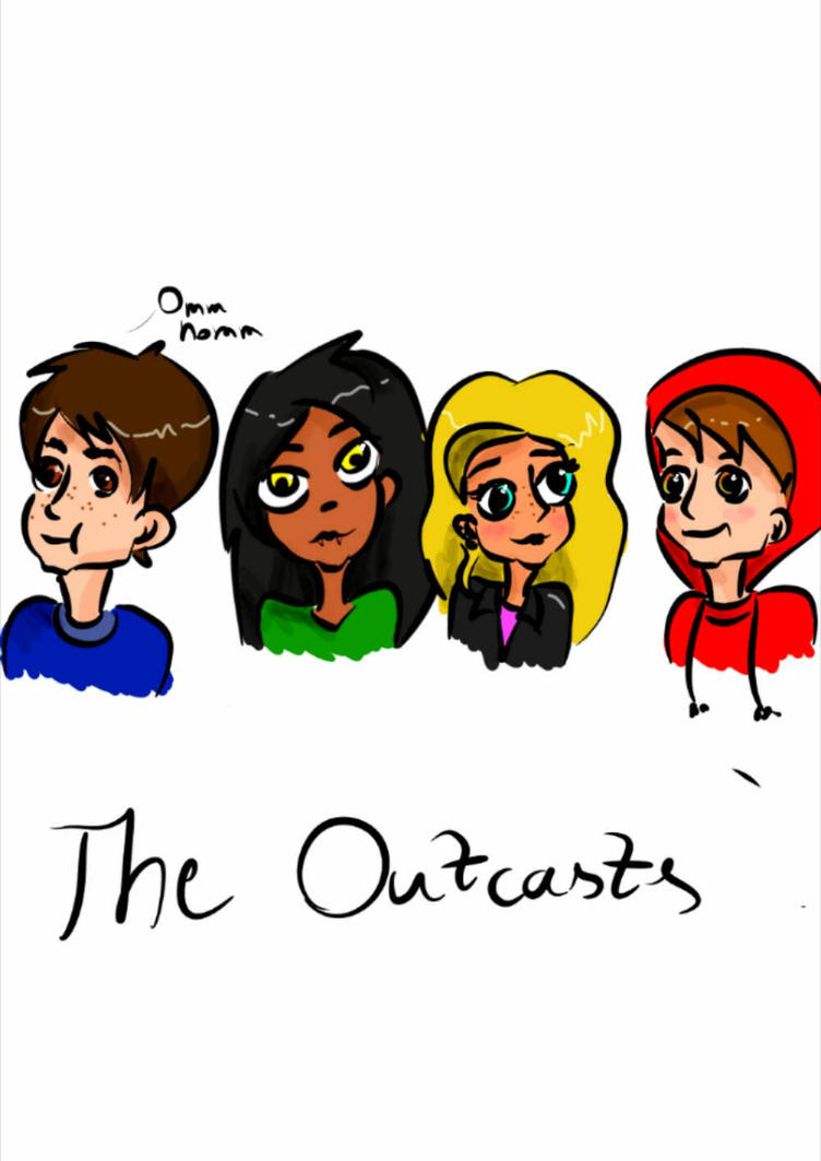 Art trade - The Outcasts by OddWorld997