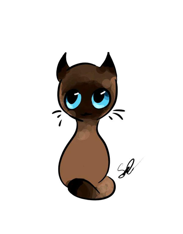 Art trade - Kitty by OddWorld997