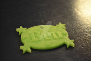 3D Printed Keychain Thingy