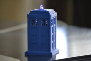 3D Printed TARDIS
