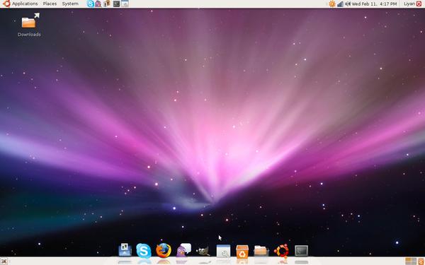 Ubuntu Screenshot 2 by d-master7