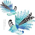 Piwaiwaka - Fantail by DragonAotearoa