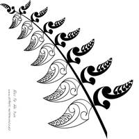 The NZ Silver Fern by DragonAotearoa