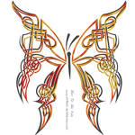 Celtic Butterfly by DragonAotearoa