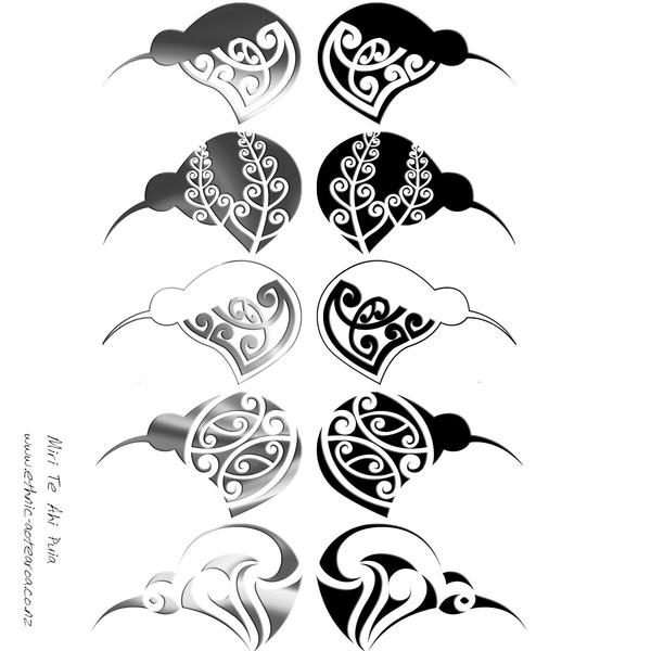 Maori Tattoo Design Wallpaper Wp300369: The NZ Kiwi By DragonAotearoa On DeviantArt