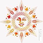 Harvest Sun by DragonAotearoa