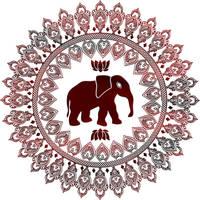Elephant Mandala by DragonAotearoa