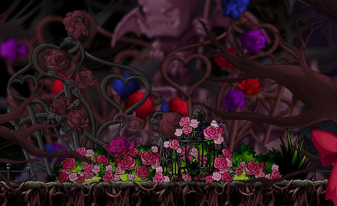 creepy rose wallpaper - photo #3