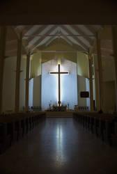 Illuminated church by elgregorPL