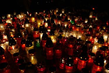 Grave candles by elgregorPL