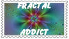 Fractal Addict Stamp by terrye634