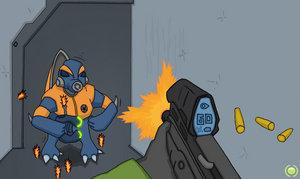 MC Vs Grunt - by ShADowPr0pj3t by Spartan-II-Project