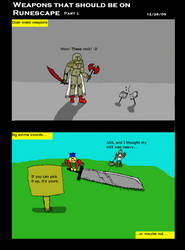 New Weapons on Runescape Pt 2 by scottyhood