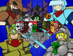 Gold Paladin's Legend of Minecraft -COLORED-