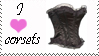 stamp I love corsets by Lora-Pedigree