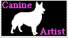 Canine Artist stamp by Lora-Pedigree